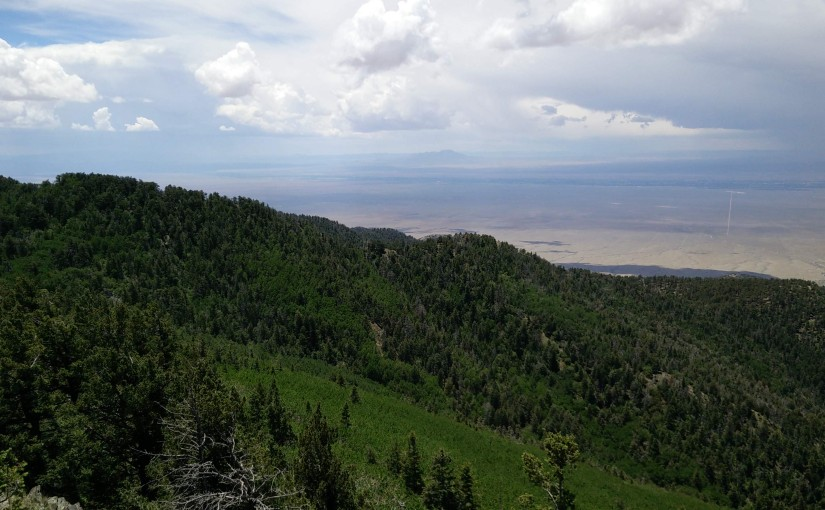 A Green Desert – Backpacking Gallo Peak and Red Canyon Campground