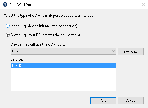 Bluetooth Serial Connection With Windows 10 – Collide ABQ